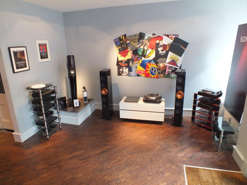 Loud & Clear (Glasgow) - KEF Reference 5 Copper Black