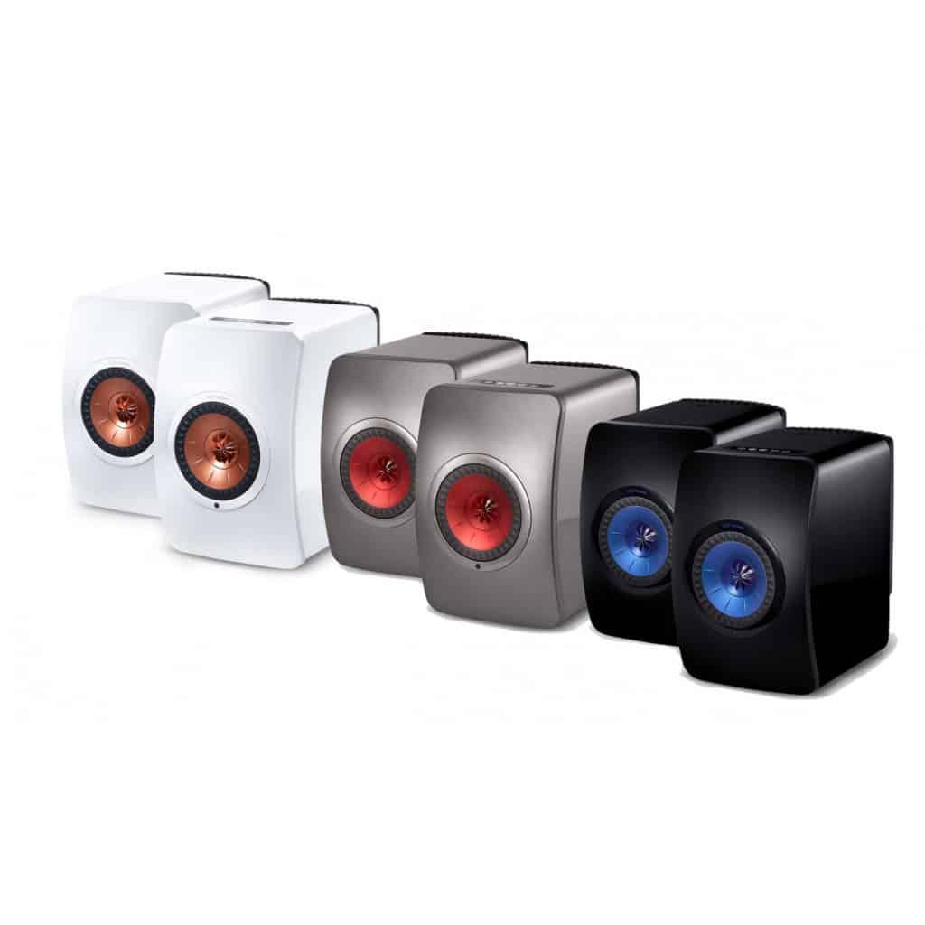 KEF LS50 wireless speakers
