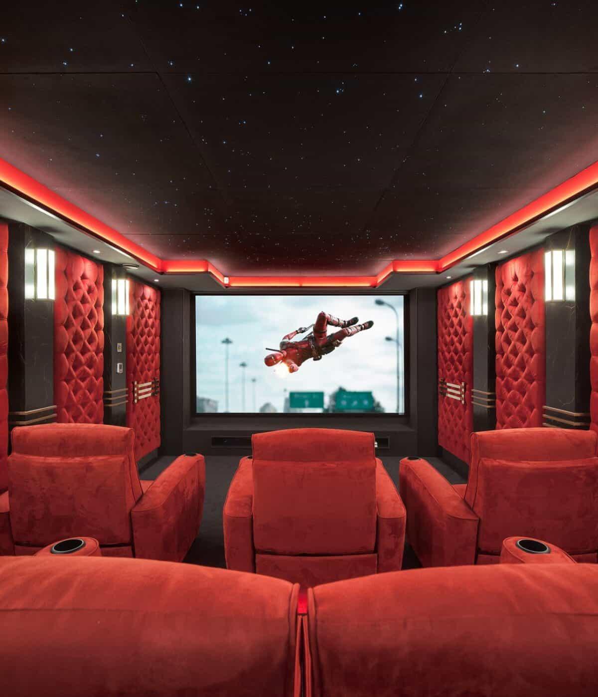 Loud & Clear cinema installation