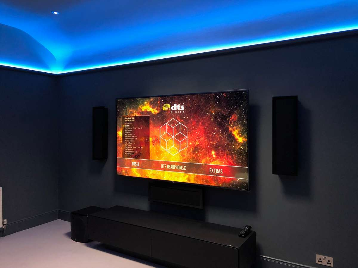 TV based media room