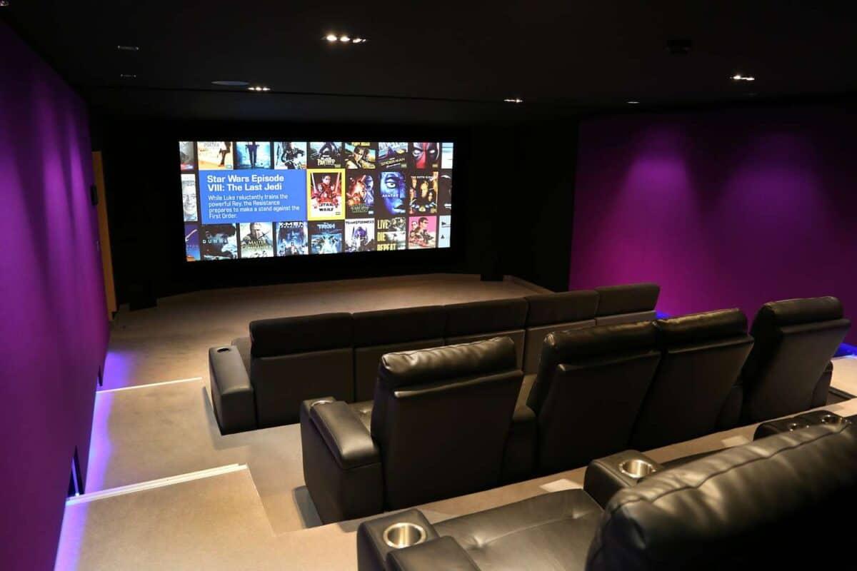 Home cinema room
