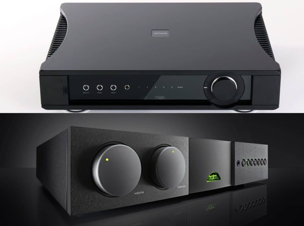 Rega Aethos and Naim Supernait3 Summer Sizzlers