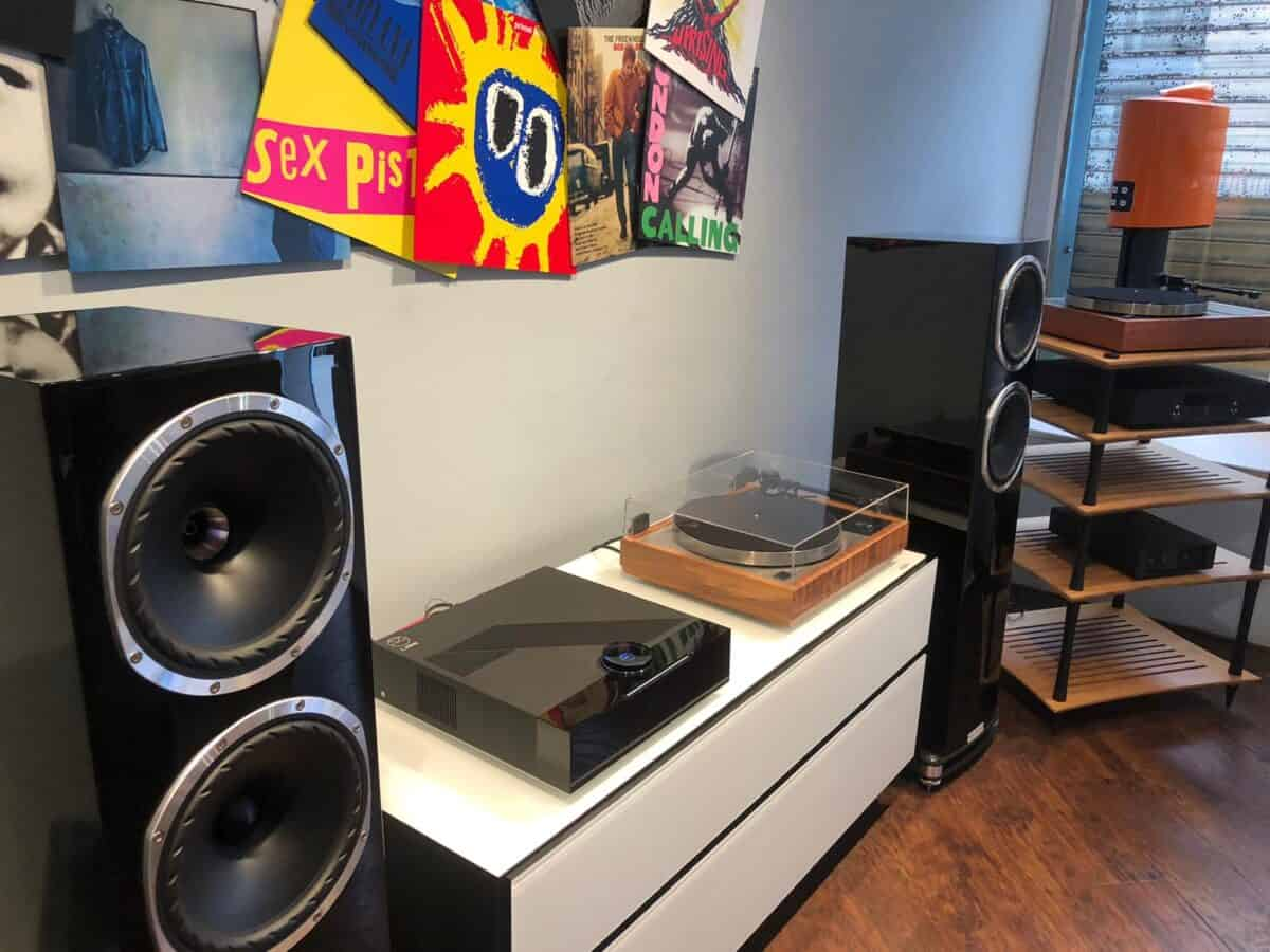 Linn LP12, Linn Selekt DSM, Fyne Audio F502SP