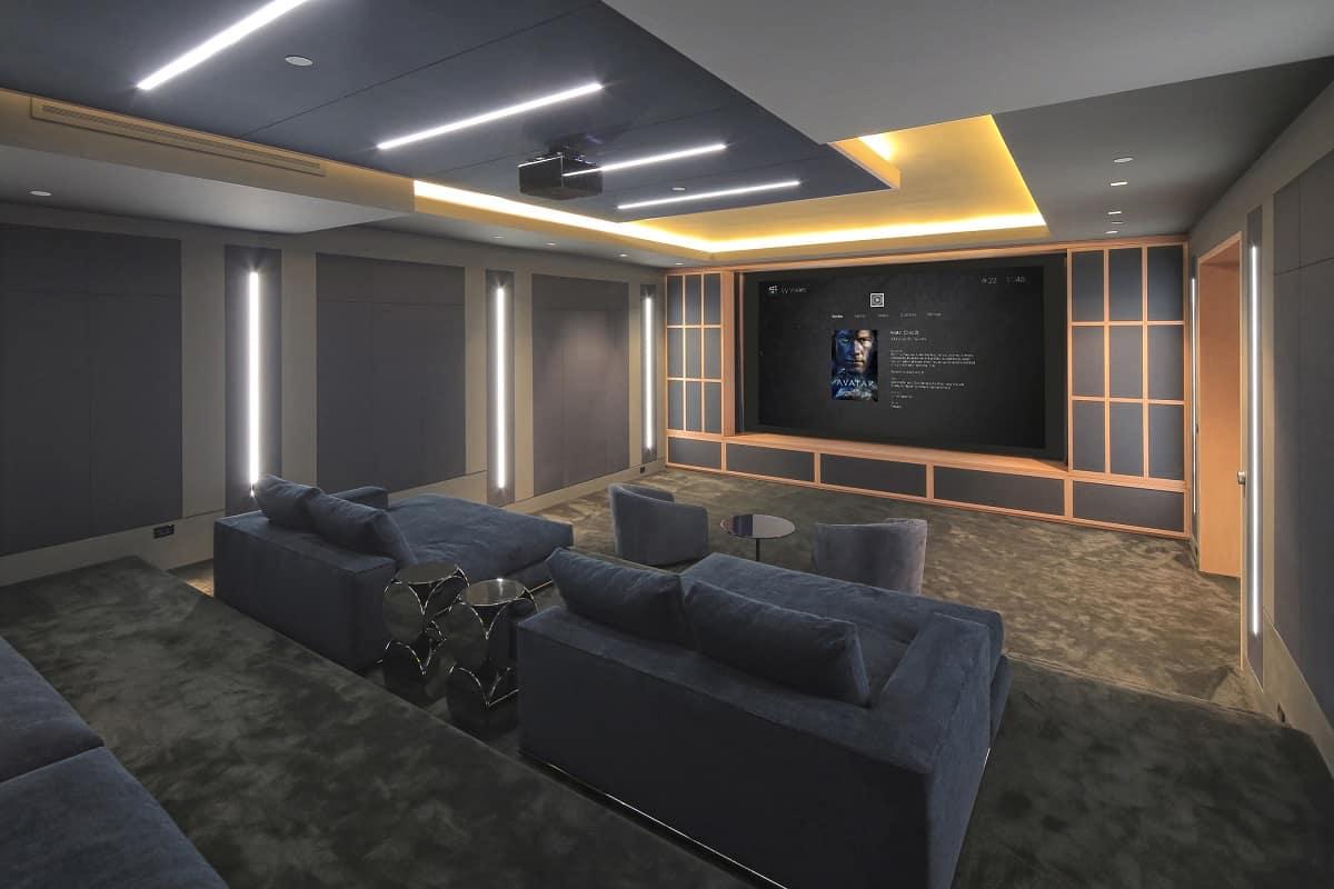Control4 cinema