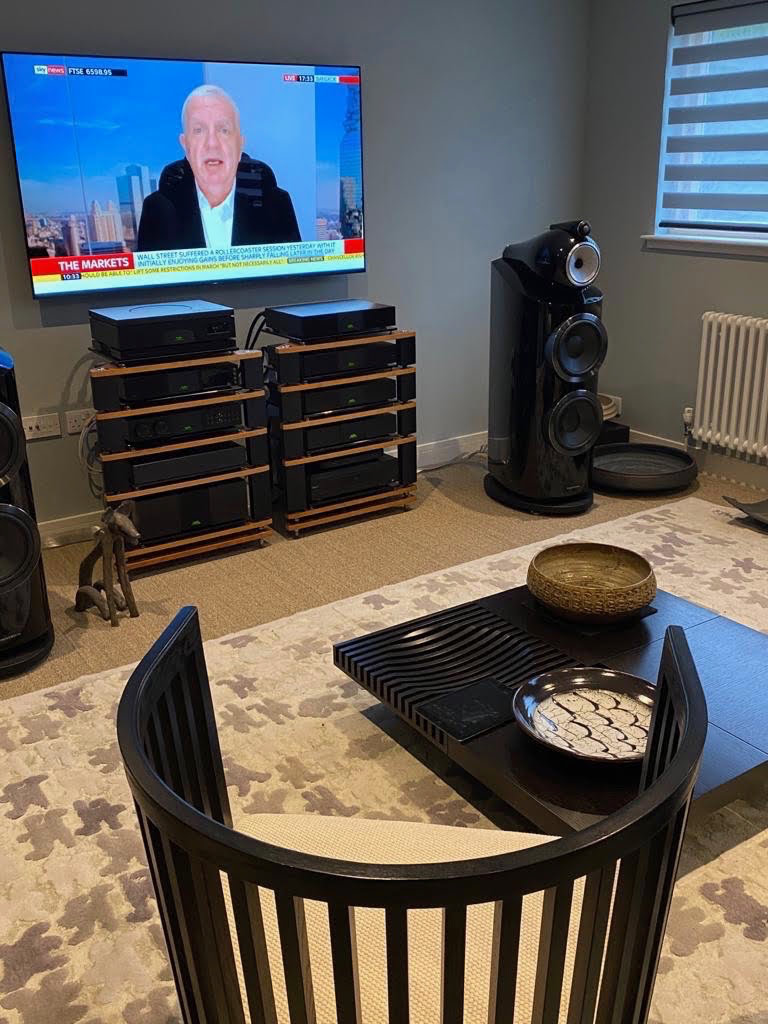 Loud & Clear music room installation