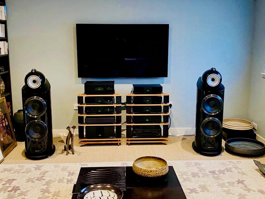 Naim 500 system B&W 800