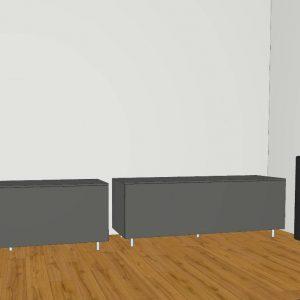 Spectral Next NX5105 / NX6205 lowboard equipment rack