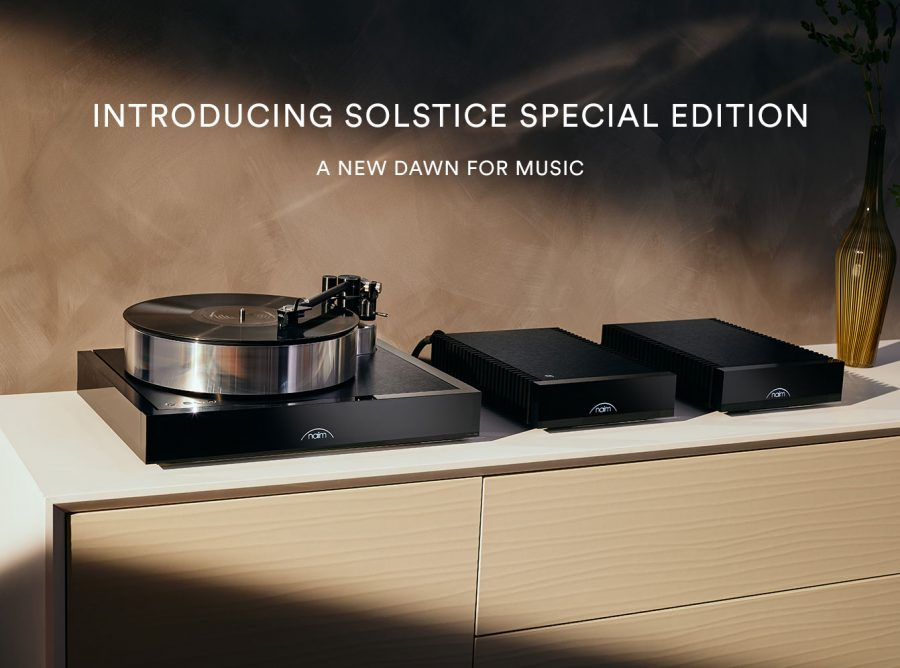 Naim Solstice Turntable Special Edition