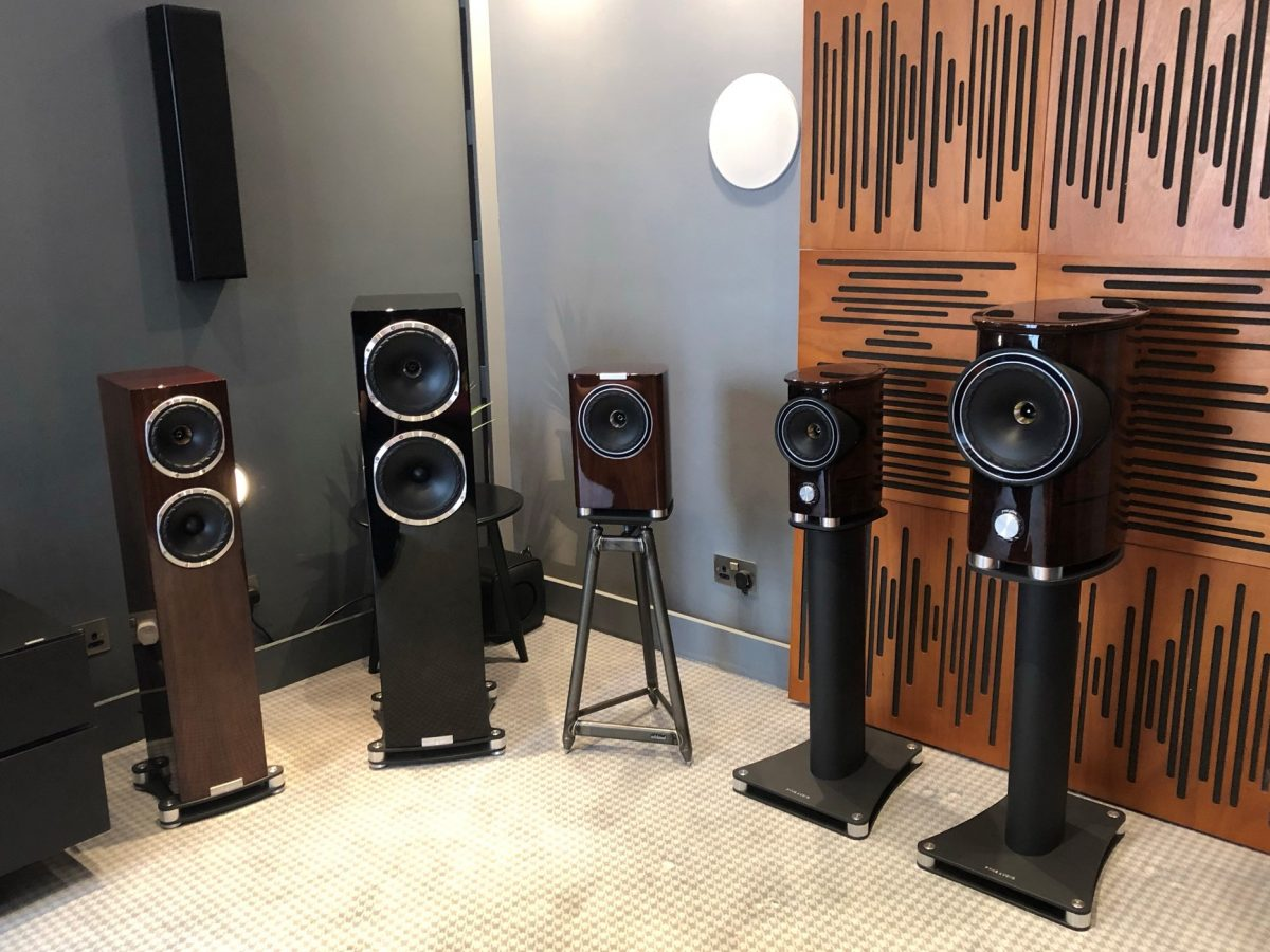 Fyne Audio range
