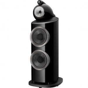 B&W 801 D4 Gloss Black